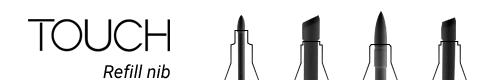 Маркеры Сменные наконечники для маркеров TOUCH