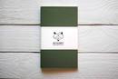 Maxgoodz Скетчбук Classic White для маркеров Болотный, A5, 32л, 160г/м2, на нитке