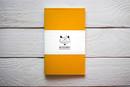 Maxgoodz Скетчбук Classic White для маркеров Желтый, A5, 32л, 160г/м2, на нитке