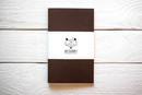Maxgoodz Скетчбук Classic White для маркеров Коричневый, A5, 32л, 160г/м2, на нитке Cl
