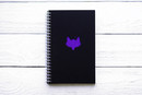 Maxgoodz Скетчбук Classic Fat Фиолетовый, двойная обложка, A5, 48л, 120г/м2, пружина