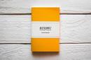 Maxgoodz Скетчбук Pocket Желтый, A6, 32л, 100г/м2, переплет на нитке