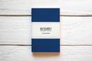 Maxgoodz Скетчбук Pocket Синий, A6, 32л, 100г/м2, переплет на нитке