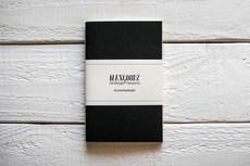 Maxgoodz Скетчбук Pocket Смола, A6, 32л, 100г/м2, переплет на нитке