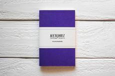 Maxgoodz Скетчбук Pocket Фиолетовый, A6, 32л, 100г/м2, переплет на нитке