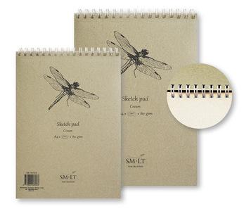 SMLT Альбом Sketch pad cream А4 100л 80 г/см EB-100TS/C