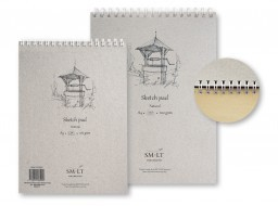 SMLT Альбом Sketch pad Natural А4 100л 100 г/см EB-100TS/NT
