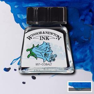 """Тушь WINSOR&NEWTON """"DRAWING INKS"""" 14 мл, кобальт"""