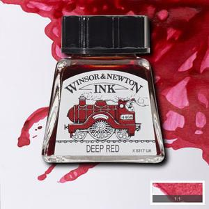 """Тушь WINSOR&NEWTON """"DRAWING INKS"""" 14 мл, насыщенно-красный"""