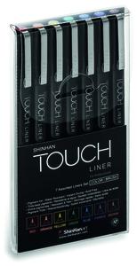 Набор Touch Liner 7 шт (цветные, brush)