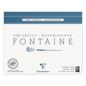 Альбом FONTAINE (Склейка, Снежное зерно) облачная техника (24х30, 300г, 15л)