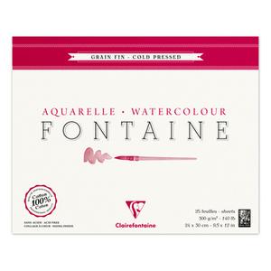 Альбом FONTAINE (Склейка, Фин) холодный пресс (24х30, 300г, 25л)