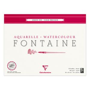 Альбом FONTAINE (Склейка, Фин) холодный пресс (30х40, 300г, 25л)