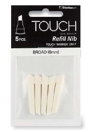 Широкое перо для Touch Twin (5 шт. в упаковке)