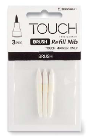 Перо-кисть для Touch Brush (3 шт. в упаковке)