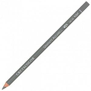 Водорастворимый (акварельный) чернографитовый карандаш, HB