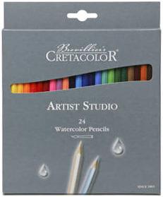 """Набор акварельных карандашей """"Artist Studio Line"""" , 24 цвета, картонная коробка"""