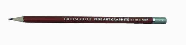 """Профессиональный чернографитовый карандаш """"CLEOS"""", шестигранный корпус диаметром 6,9 мм, диаметр стержня 2,2-2,8 мм, твердость 9B"""
