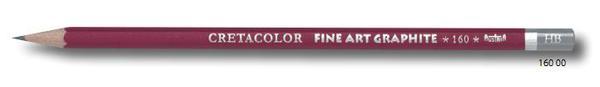 """Профессиональный чернографитовый карандаш """"CLEOS"""", шестигранный корпус диаметром 6,9 мм, диаметр стержня 2,2-2,8 мм, твердость 6H"""