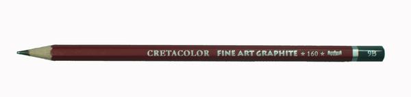 """Профессиональный чернографитовый карандаш """"CLEOS"""", шестигранный корпус диаметром 6,9 мм, диаметр стержня 2,2-2,8 мм, твердость 9H"""