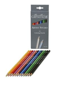 """Набор профессиональных цветных карандашей """"Artist Studio Line"""", 12 цветов, картонная коробка"""