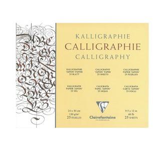 Альбом CALLIGRAPHY (Склейка) Для каллиграфии (24х30, 130г, 25л)