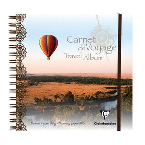 Альбом для зарисовок TRAVEL (20х20, 180г, 30л) Воздушный шар