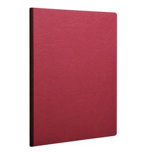 Тетрадь ESSENTIALS (А5, 90г, 96л) Красная облож., белые листы