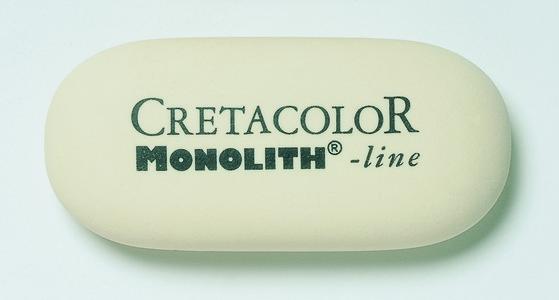 """Художественный ластик """"MONOLITH"""", маленький"""