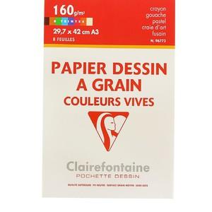 Набор цветной бумаги ETIVAL COLOR (А3, 160г, 8л)