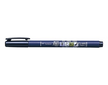 Tombow Fudenosuke каллиграфическая ручка-брашпен