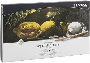 REMBRANDT AQUARELL Художественные карандаши акварельные 72 цв в метал коробке