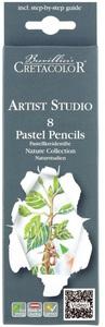 """Набор пастельных карандашей """"Artist Studio Line"""" 8 цветов для рисования этюдов, картонная коробка"""