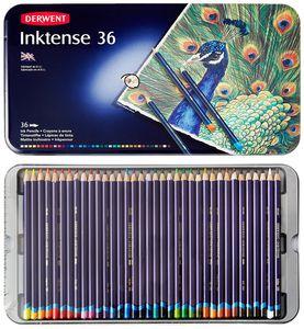 Набор акварельных карандашей Inktense 36цв в метал.упак