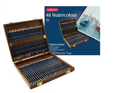 Набор акварельных карандашей Watercolour 48цв в дерев.упак