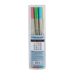 Набор Finecolour Liner 16 цветов
