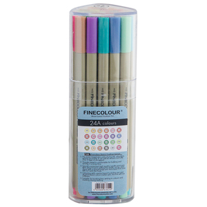 Набор Finecolour Liner 24 цвета (A)