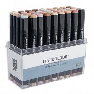 Набор Finecolour Brush 36 цветов