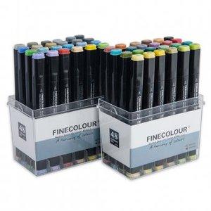 Набор Finecolour Brush 48 цветов