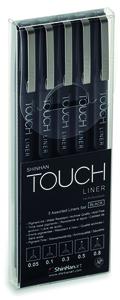 Набор Touch Liner 5 шт (черные, 0.05, 0.1, 0.3, 0.5, 0.8)