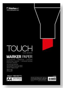 Бумага Touch для маркеров A4 260 г 10 листов