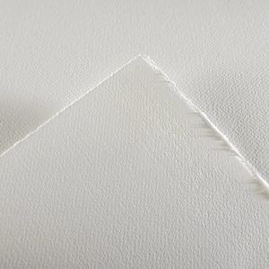 Бумага для акварели Moulin du Roy 300г/м.кв 56*76см Торшон (крупное зерно) цвет натуральный белый
