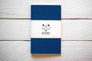Maxgoodz Скетчбук Classic White для маркеров Синий, A5, 32л, 160г/м2, на нитке