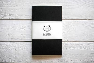 Maxgoodz Скетчбук Classic White для маркеров Смола, A5, 32л, 160г/м2, на нитке