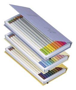 Набор из 30 профессиональных цветных карандашей Tombow Irojiten, set C