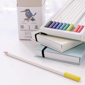 Комплект из 90 профессиональных цветных карандашей (3 набора) Tombow Irojiten. Все 90 цветов.