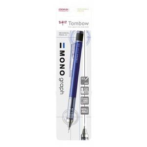 MONO Graph blister карандаш мех. 0,5 мм синий корпус (блистер)
