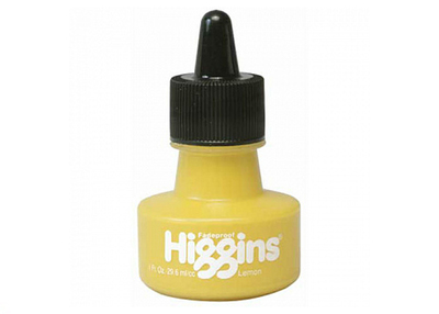 HIGGINS LEMON INK пигментные чернила 1 OZ (29,6 мл)