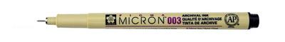 Ручка капилярная Pigma Micron 0.25мм Черный